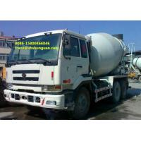China NISSAN UD Used Concrete Mixer Trucks 6 X 4 Driving Type Easy Operating on sale