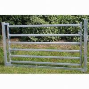 Best 80 x 40mm Oval Rail Horse Panel Gate wholesale