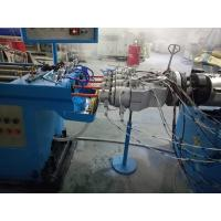 China PVC Electrical Conduit Pipe Making Machine With Twin Screw Extruder on sale