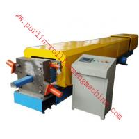 Automatic Water Drainage Pipe Roll Forming Machine / Metal Eaves Gutter Equipment
