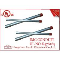 "Hot Dip Rigid Intermediate Metal Conduit IMC Conduit Pipe 1/2"" to 4"" UL Listed"