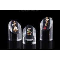 Best Elegant Acrylic Display Stands Anti Corrosive Plexiglass Cosmetic Ring Stand wholesale