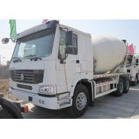 Best Yellow 290 HP Concrete Mixer Trucks With Mixer Tank 6 Cubic Meters wholesale