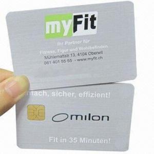 Best Original SLE5542 Contact Smart Cards, Suitable for Public Transportation wholesale