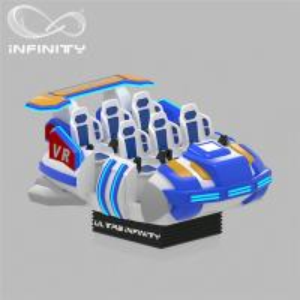 Best 6 Seats VR Motion Simulator Virtual Reality Cinema Entertainment Simulation Rides wholesale