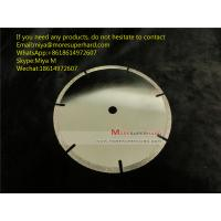 China Electroplated Diamond Cutting Blades & Discs for Cutting Marble, Granite, Thermosettin miya@Moresuperhard.com on sale