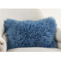 "Best Luxury 100% Real Mongolian Fur Pillow For Home Bedroom Decorative 12"" X 20"" wholesale"