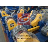 Quality Cylinder Self Aligned Welding Rotator / Pipe Turning Rolls Double Drive wholesale