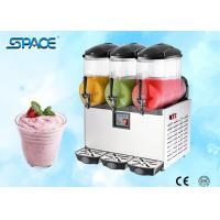 Best Table Top Commercial Frozen Drink Slush Machine 3 Bowl Stainless Steel Material wholesale