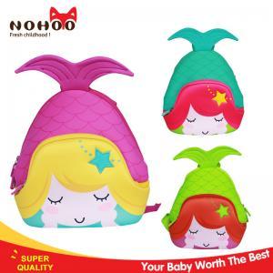 Best Lovely Ocean Serie Mermaid 3 - 6 Years Old Kids Book Bags For School OEM wholesale