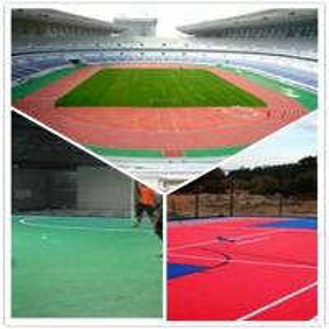 Best 3W Outdoor Football Court / Suspend Interlocking / Pvc flooring wholesale