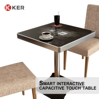 Best Restaurant Coffee Game 21.5 Inch Smart Touch Screen Table wholesale