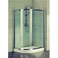 Cheap Compact D Shaped Quadrant Shower Enclosures 4 Ft Small Corner Shower Stalls for sale