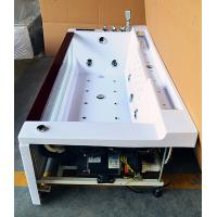 Cheap One Person Hydrotherapy Mini Indoor Hot Tub Square With Bluetooth Upgrade for sale