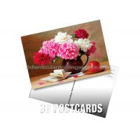 Cheap Full Color 0.6 MM PET Lenticular 3d Poster Card With Pearlised Film for sale