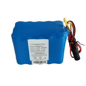 Best 18650 11000 MAH 12 Volt Deep Cell Lithium Battery Pack wholesale
