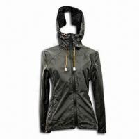 Best Women's Outdoor Coat, Made of 100% Polyester, Fashionable Style wholesale