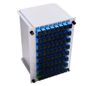 Cheap HSGFL-PLC-1*64SU-C PLC Fiber Optic Splitter Insert Type 5.7DB Insert Loss for sale