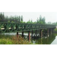 Quality Easy Assembly Steel Suspension Bridge Compact Panel Bridge With Steel Deck wholesale