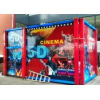 Best Wonderful 5D Movie Theatre with Cinema Cabin and Motion Chair wholesale