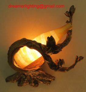 Best Decorative Warm White Resin LED Wall Light wholesale