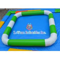 Best Water Sports Games Inflatable Rectangle Pool Various Color OEM Printing wholesale