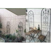 Best Black Color Garden Plant Trellis / Metal Garden Trellis Simple Understated Design wholesale