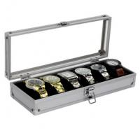Best Professional Wrist Watch Display Box High Strength Aluminium Material For Men wholesale