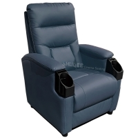 Best Multi Functional Movie Theater Chairs Genuine Leather Soft Cinema Sofa Custom wholesale