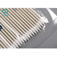 Best High Absorbency Sterile Cotton Buds , Medical Cotton Swabs For Micro Mechanical Cleaning wholesale