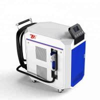 Best Paint Removal Laser Cleaning Machine , Laser Metal Cleaner Air Cooling wholesale