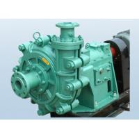 Cheap Higher Efficiency Sand Slurry Pump , Small Sludge Pump Lower Abrasion Rate for sale