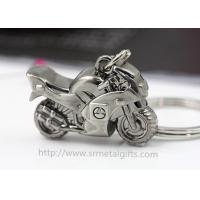Best Exquisite metal motorcycle drop pendant keychain, branding logo motorcycle charm ornament, wholesale