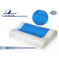 Best PU neck support memory foam Cooling Gel Pillow head rest sleeping wholesale