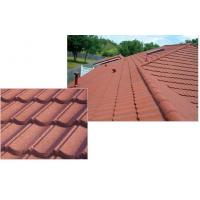 Classic durable Stone Coated Metal Roofing Tile , Exterior architectural roofing shingle