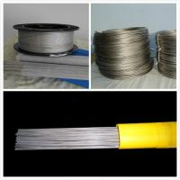 China w1 Tungsten wire 0.025mm diameter  of white color chemical composition is 99.6% on sale