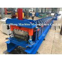 Quality KR 18 model Hidden Joint roofing sheet roll forming machine for 0.32mm material with seaming machine 180 degree loacked wholesale