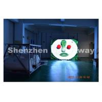 China 8 mm SMD3535 Led Outdoor Advertising Screen 6500 CD LINSN Controller on sale