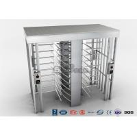 Cheap Automatic Security Full Height Turnstile Double Lane With Impact Resistance With 304# Stainless Steel for sale
