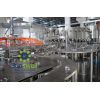 Best Automated soda water bottling 3-in-1 carbonated filling monoblock machines and equipment wholesale