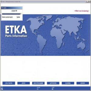 Best ALK 2013.12 ETKA 7.4 International VAG Group ETKA Parts Information wholesale