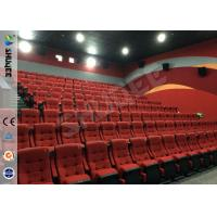 Best Real Feeling Large Screen Hd 3D Cinema System For Holding 40 People wholesale