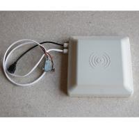 Best White Long Distance RFID Integrated Reader , Access Control Rfid Gate Reader wholesale
