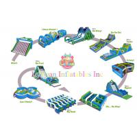 Best Giant Crazy Inflatable Obstacle Course Games For Sports Centers EN71 wholesale