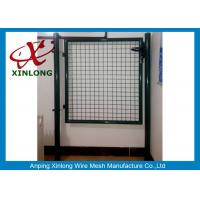 Best Circular / Square Shape Welded Wire Gate Panels With 1.5mm Thickness Post wholesale