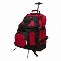 Best Durable Rolling Backpack, Made of Water-resistant, 600D Polyester, Measuring 13 x 6.75 x 18 Inches wholesale