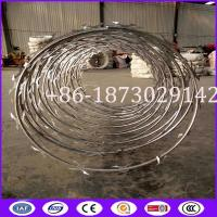 Buy cheap High Security Helical Razor Wire Made in China from wholesalers