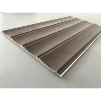 Cheap 25cm × 8mm Four Arcs PVC Wooden Plastic Laminate Panels Customized Length for sale