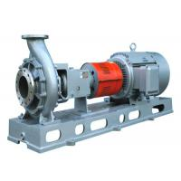 Quality Electric Open Impeller End Suction Pump For Pulp And Paper Industry Process wholesale