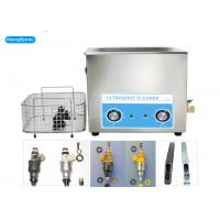 China Analog Control Ultrasonic Parts Cleaner , 22L Ultrasonic Fuel Injector Cleaning Machine on sale